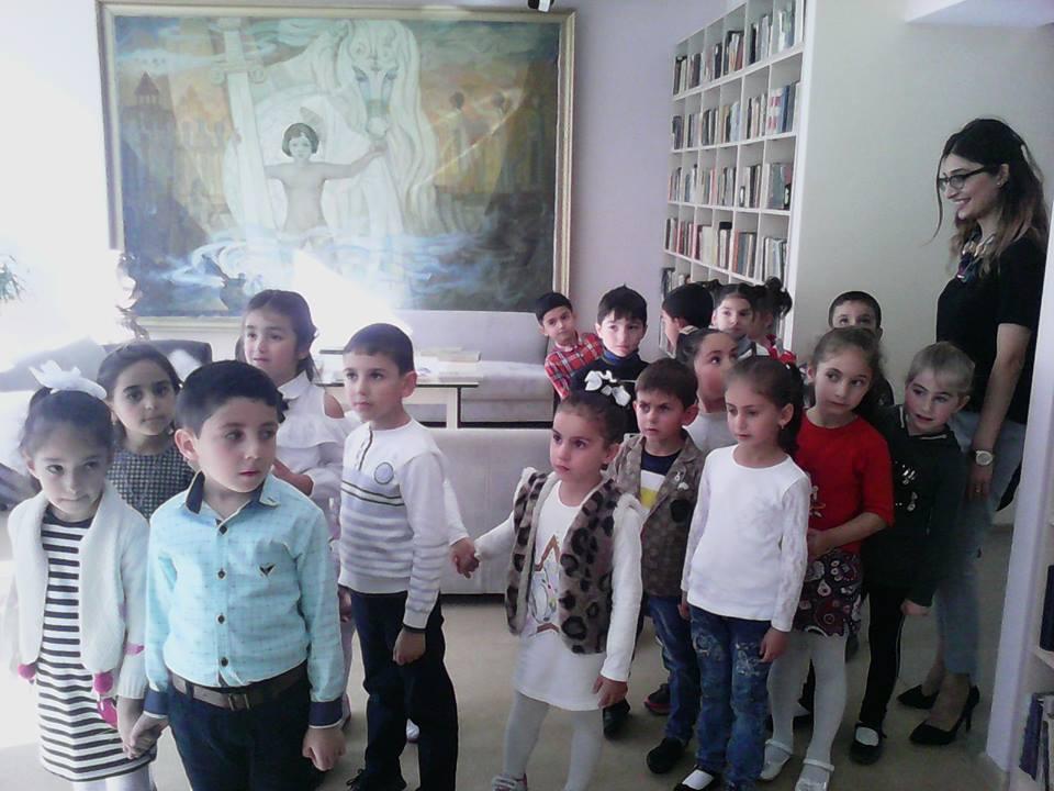 Կապանի թիվ 10 միջնակարգ դպրոցի 1բ դասարանի աշակերտների այցը (17)