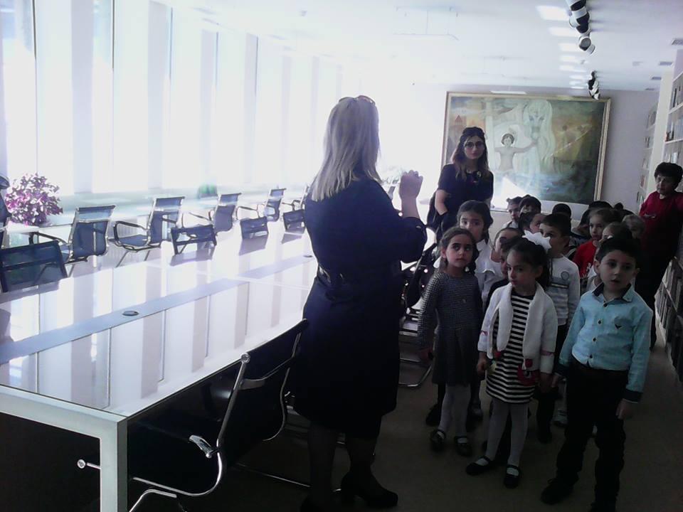 Կապանի թիվ 10 միջնակարգ դպրոցի 1բ դասարանի աշակերտների այցը (2)