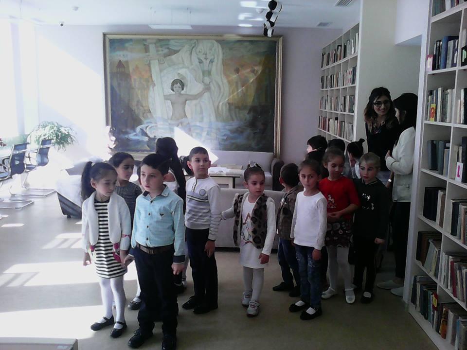 Կապանի թիվ 10 միջնակարգ դպրոցի 1բ դասարանի աշակերտների այցը (3)