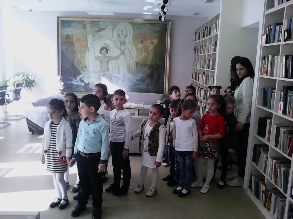 Կապանի թիվ 10 միջնակարգ դպրոցի 1բ դասարանի աշակերտների այցը (6)