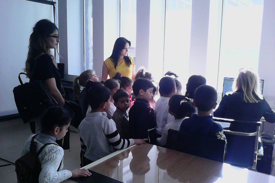 Կապանի թիվ 10 միջնակարգ դպրոցի 1բ դասարանի աշակերտների այցը