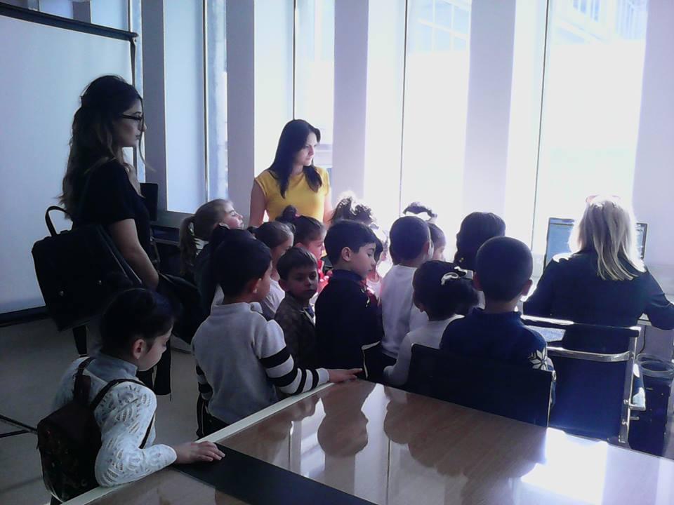 Կապանի թիվ 10 միջնակարգ դպրոցի 1բ դասարանի աշակերտների այցը (7)