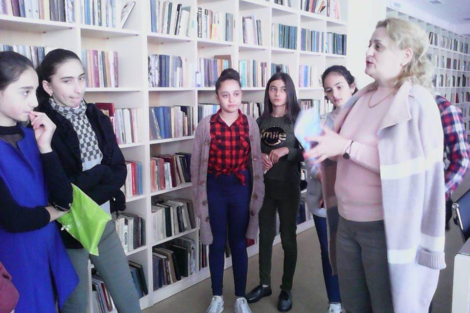 Կապանի թիվ 10 միջն. դպրոցի 7-րդ դասարանի աշակերտների այցը