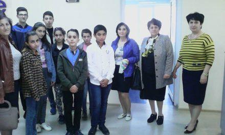 Կապանի թիվ 11 միջն. դպրոցի VII-րդ, XI-րդ և XII-րդ դասարանի աշակերտների այցը
