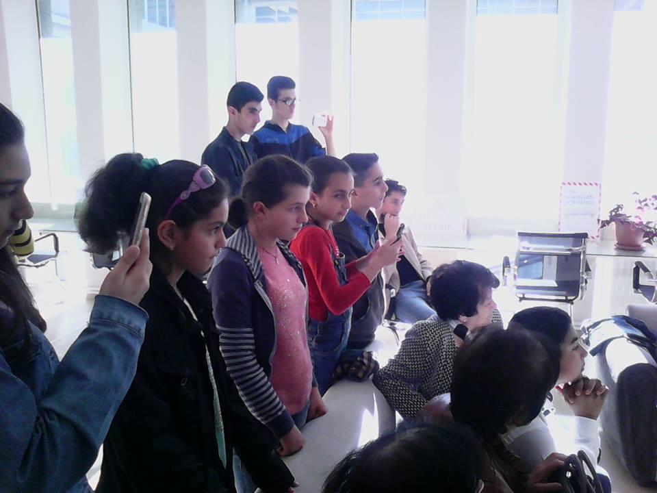 Կապանի թիվ 11 միջն. դպրոցի VII-րդ, XI-րդ և XII-րդ դասարանի աշակերտների այցը (26)