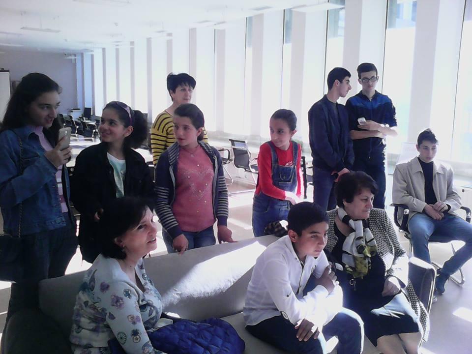 Կապանի թիվ 11 միջն. դպրոցի VII-րդ, XI-րդ և XII-րդ դասարանի աշակերտների այցը (5)