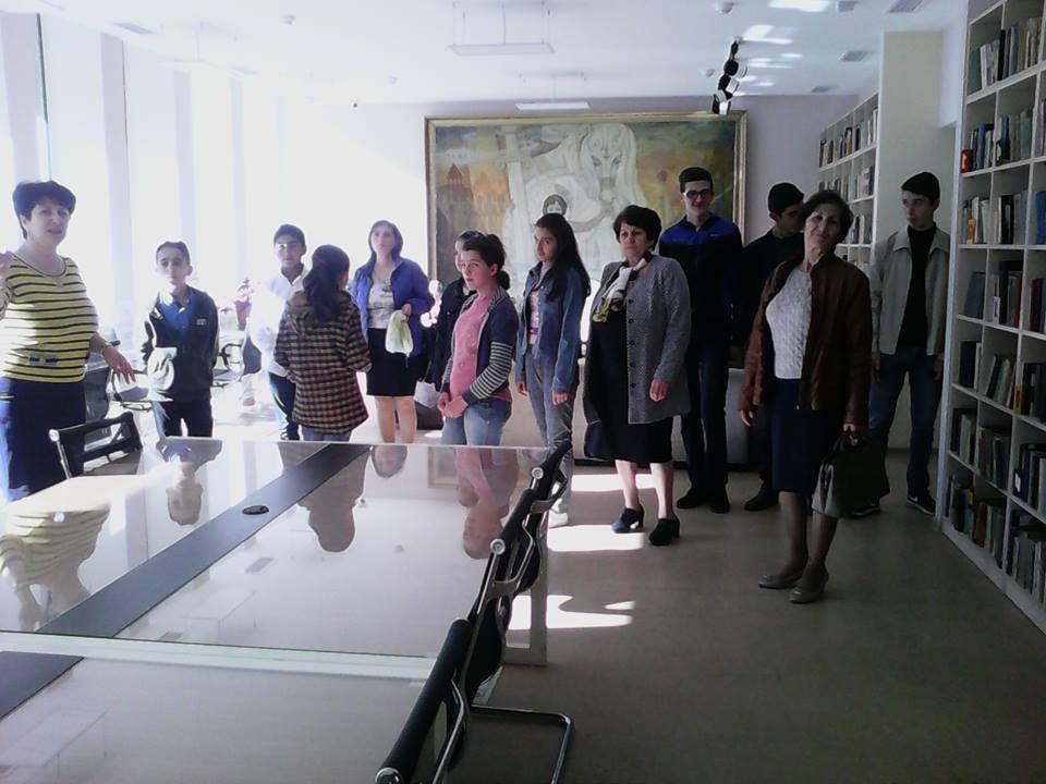 Կապանի թիվ 11 միջն. դպրոցի VII-րդ, XI-րդ և XII-րդ դասարանի աշակերտների այցը (6)