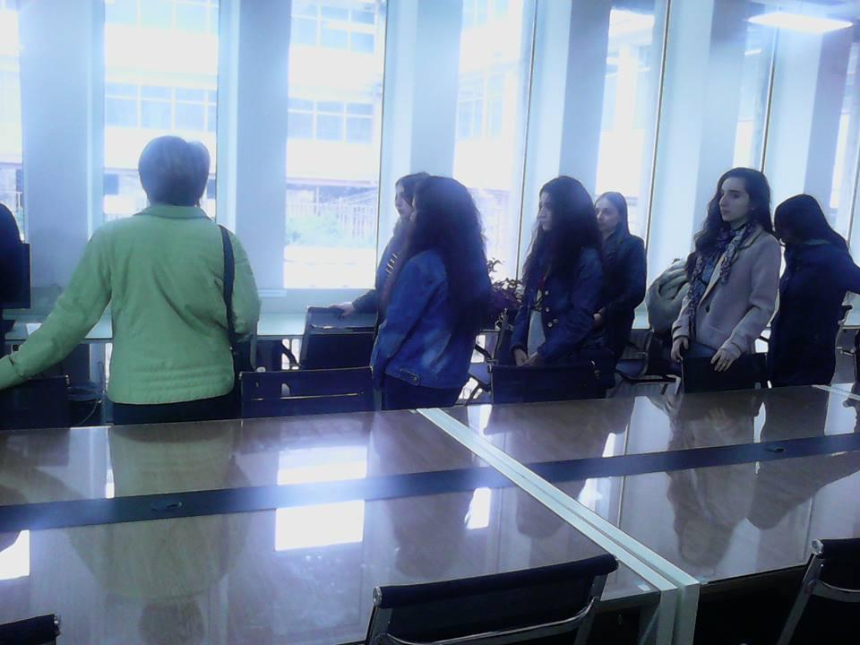 Կապանի թիվ 10 միջն. դպրոցի XI-րդ դասարանի աշակերտների այցը (10)