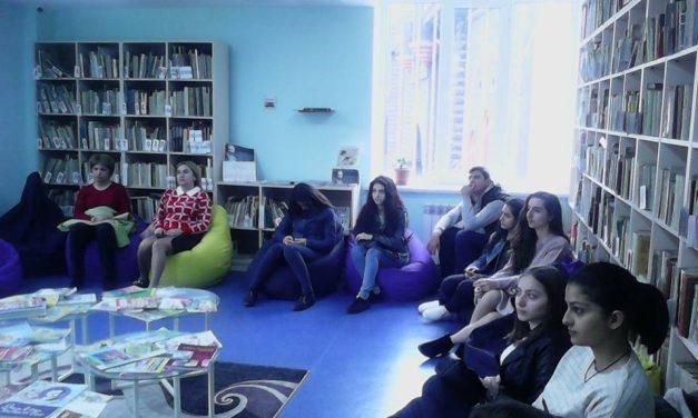 Կապանի թիվ 10 միջն. դպրոցի XI-րդ դասարանի աշակերտների այցը