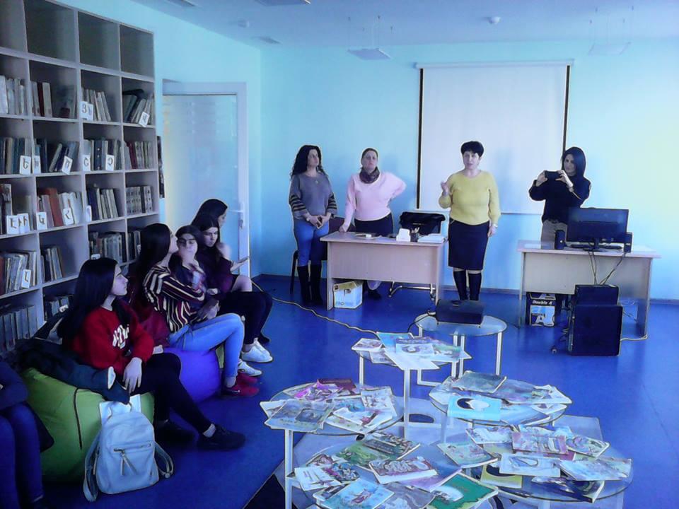 Կապանի թիվ 3 միջնակարգ դպրոցի IX Բ դասարանի աշակերտների այցը (10)