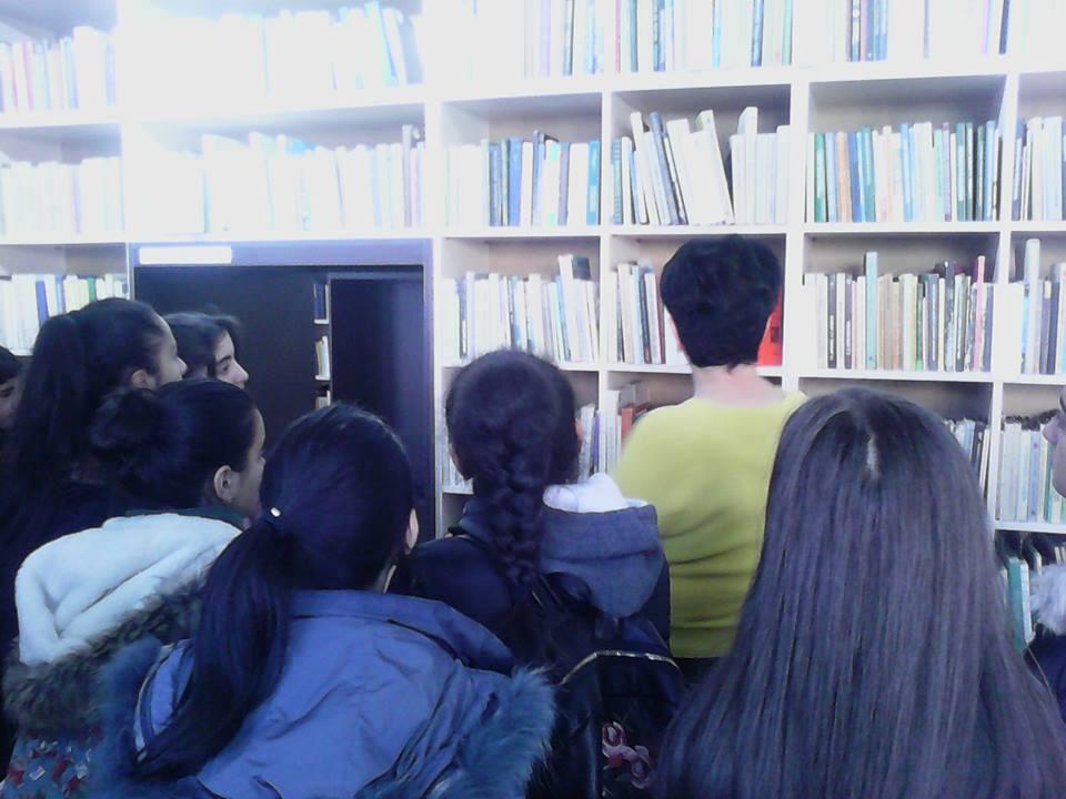 Կապանի թիվ 3 միջնակարգ դպրոցի IX Բ դասարանի աշակերտների այցը (14)