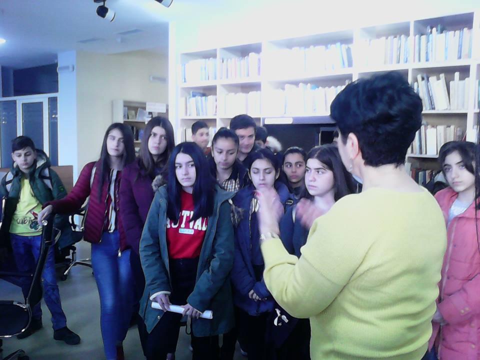 Կապանի թիվ 3 միջնակարգ դպրոցի IX Բ դասարանի աշակերտների այցը (23)