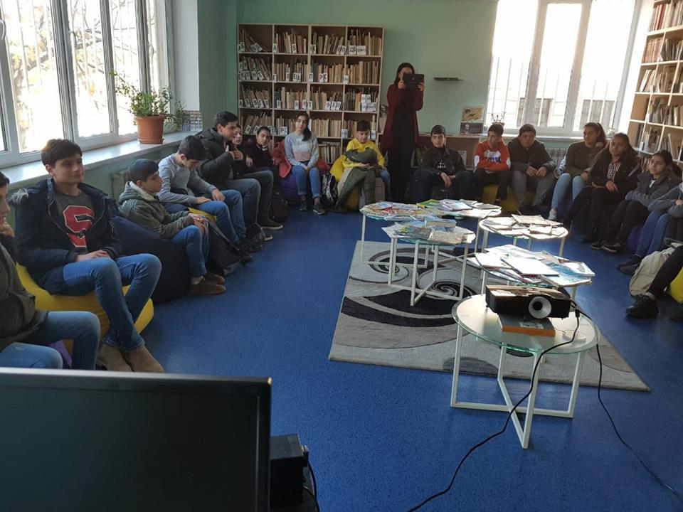 Կապանի թիվ 3 միջնակարգ դպրոցի IX Բ դասարանի աշակերտների այցը (24)