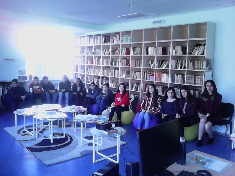 Կապանի թիվ 3 միջնակարգ դպրոցի IX Բ դասարանի աշակերտների այցը (25)