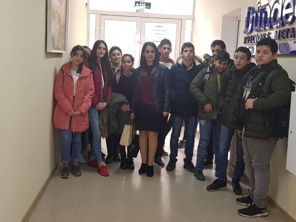 Կապանի թիվ 3 միջնակարգ դպրոցի IX Բ դասարանի աշակերտների այցը (26)