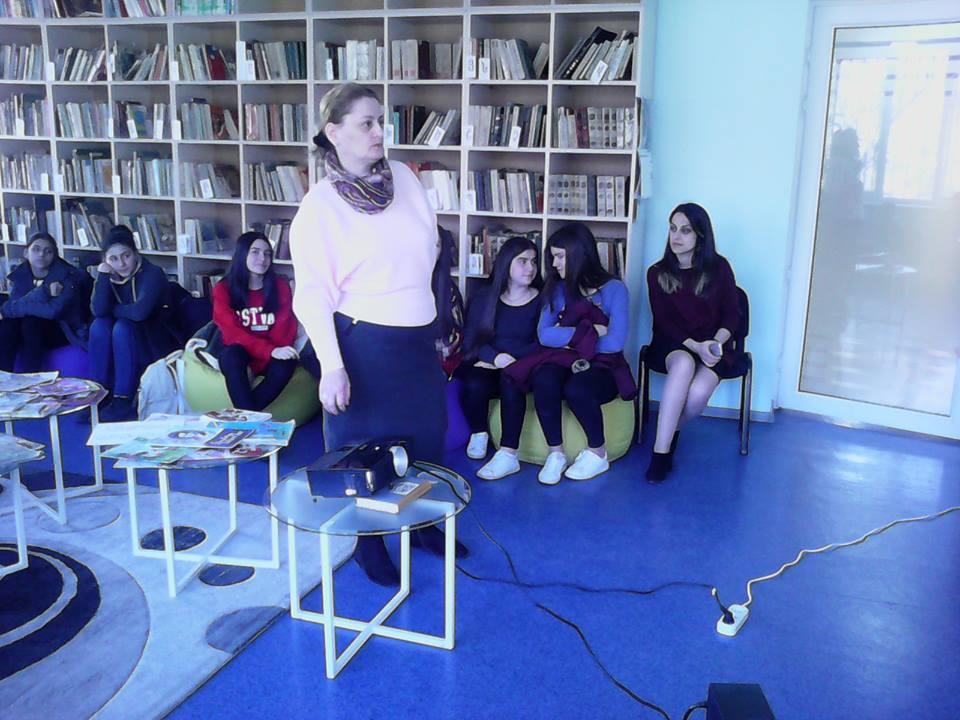 Կապանի թիվ 3 միջնակարգ դպրոցի IX Բ դասարանի աշակերտների այցը (9)