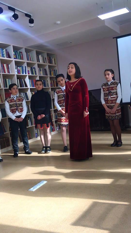 Հովհ. Թումանյանի 150-ամյակին նվիրված գրական -երաժշտական ցերեկույթ (1)