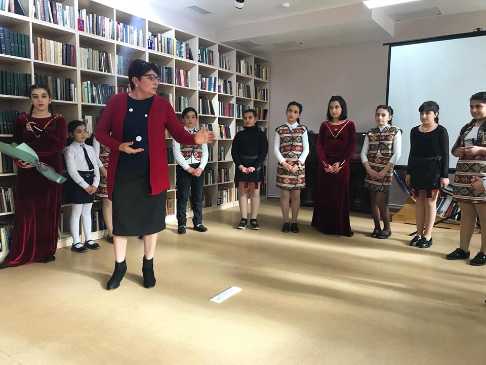 Հովհ. Թումանյանի 150-ամյակին նվիրված գրական -երաժշտական ցերեկույթ (10)