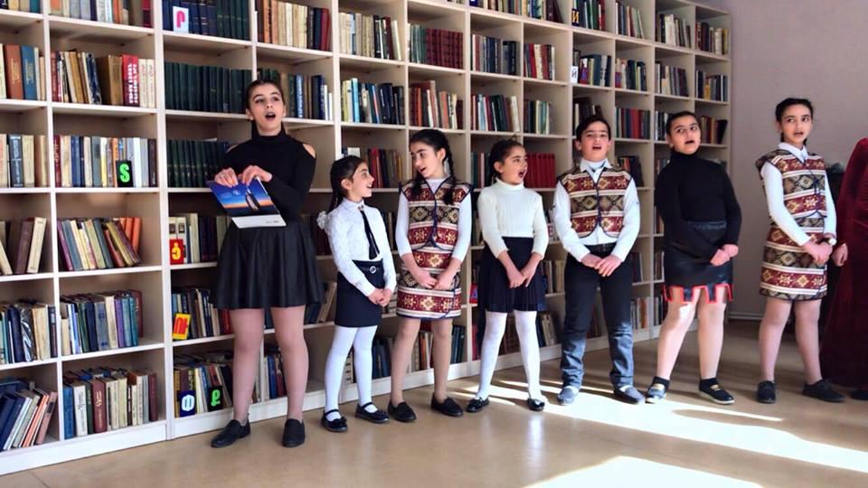 Հովհ. Թումանյանի 150-ամյակին նվիրված գրական -երաժշտական ցերեկույթ (11)