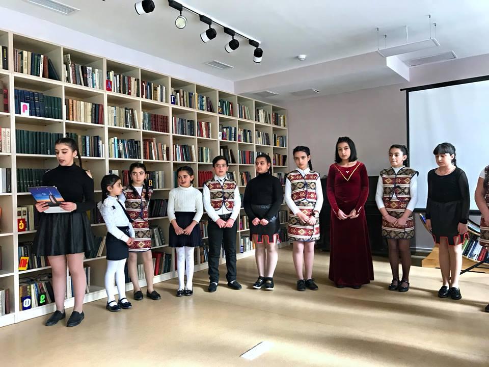 Հովհ. Թումանյանի 150-ամյակին նվիրված գրական -երաժշտական ցերեկույթ (13)