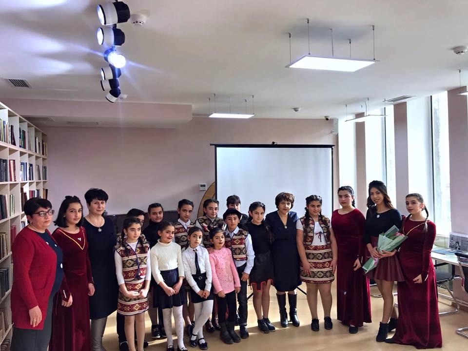 Հովհ. Թումանյանի 150-ամյակին նվիրված գրական -երաժշտական ցերեկույթ (4)