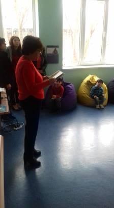 էլեկտրոնային գրադարան այցելեցին թիվ 5 ՆՈՒՀ-ի միջին խմբի սաները (1)