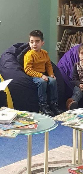 էլեկտրոնային գրադարան այցելեցին թիվ 5 ՆՈՒՀ-ի միջին խմբի սաները (10)