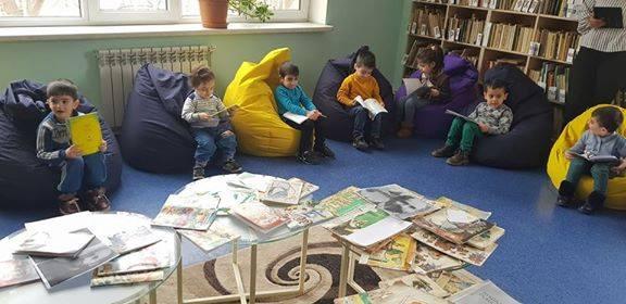 էլեկտրոնային գրադարան այցելեցին թիվ 5 ՆՈՒՀ-ի միջին խմբի սաները (12)