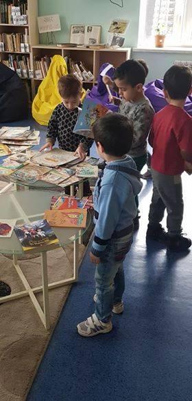 էլեկտրոնային գրադարան այցելեցին թիվ 5 ՆՈՒՀ-ի միջին խմբի սաները (14)