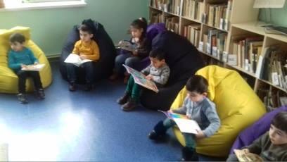 էլեկտրոնային գրադարան այցելեցին թիվ 5 ՆՈՒՀ-ի միջին խմբի սաները (19)