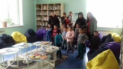 էլեկտրոնային գրադարան այցելեցին թիվ 5 ՆՈՒՀ-ի միջին խմբի սաները (2)