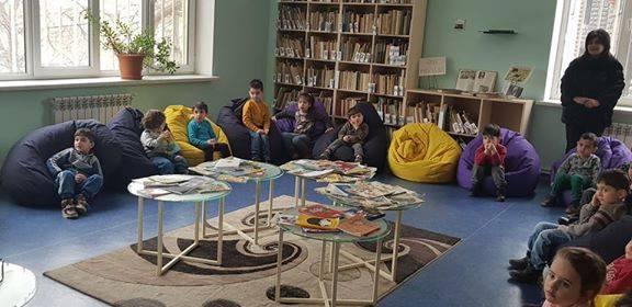էլեկտրոնային գրադարան այցելեցին թիվ 5 ՆՈՒՀ-ի միջին խմբի սաները (21)