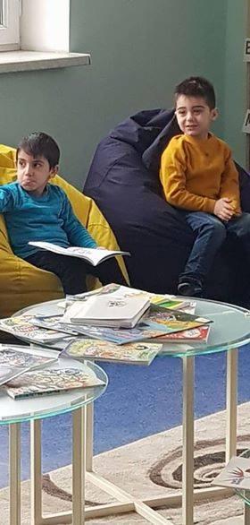 էլեկտրոնային գրադարան այցելեցին թիվ 5 ՆՈՒՀ-ի միջին խմբի սաները (23)