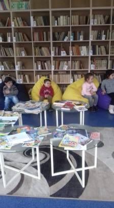 էլեկտրոնային գրադարան այցելեցին թիվ 5 ՆՈՒՀ-ի միջին խմբի սաները (24)