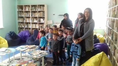 էլեկտրոնային գրադարան այցելեցին թիվ 5 ՆՈՒՀ-ի միջին խմբի սաները (3)