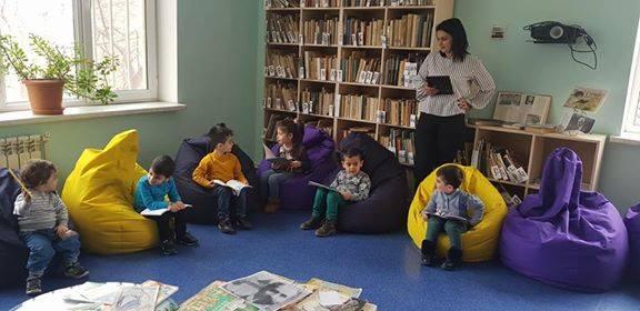 էլեկտրոնային գրադարան այցելեցին թիվ 5 ՆՈՒՀ-ի միջին խմբի սաները (4)