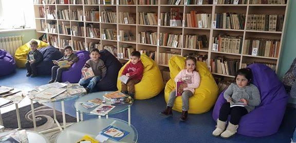 էլեկտրոնային գրադարան այցելեցին թիվ 5 ՆՈՒՀ-ի միջին խմբի սաները (9)