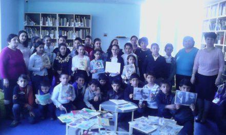 Էլեկտրոնային գրադարան այցելեցին թիվ 7-րդ միջնակարգ դպրոցի V ,,Գ՛՛ դասարանի աշակերտները