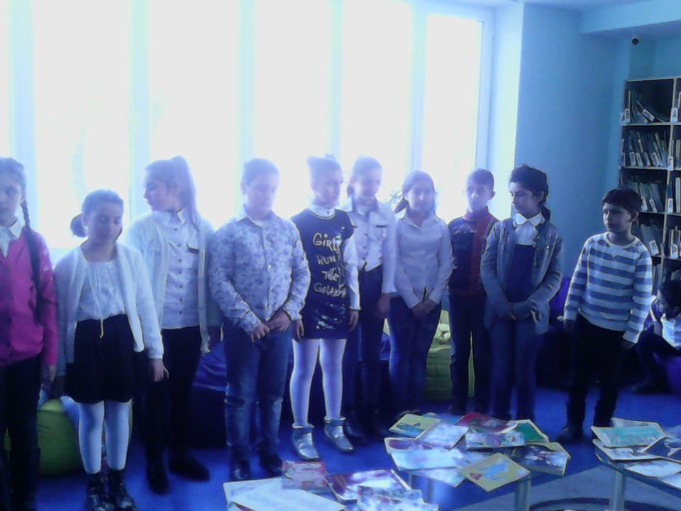 թիվ 7-րդ միջնակարգ դպրոցի V ,,Գ՛՛ դասարանի աշակերտները (8)