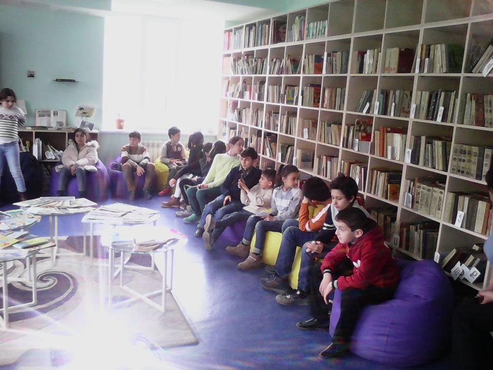 Էլեկտրոնային գրադարան այցելեցին թիվ 7 հիմնական դպրոցի V-րդ (16)