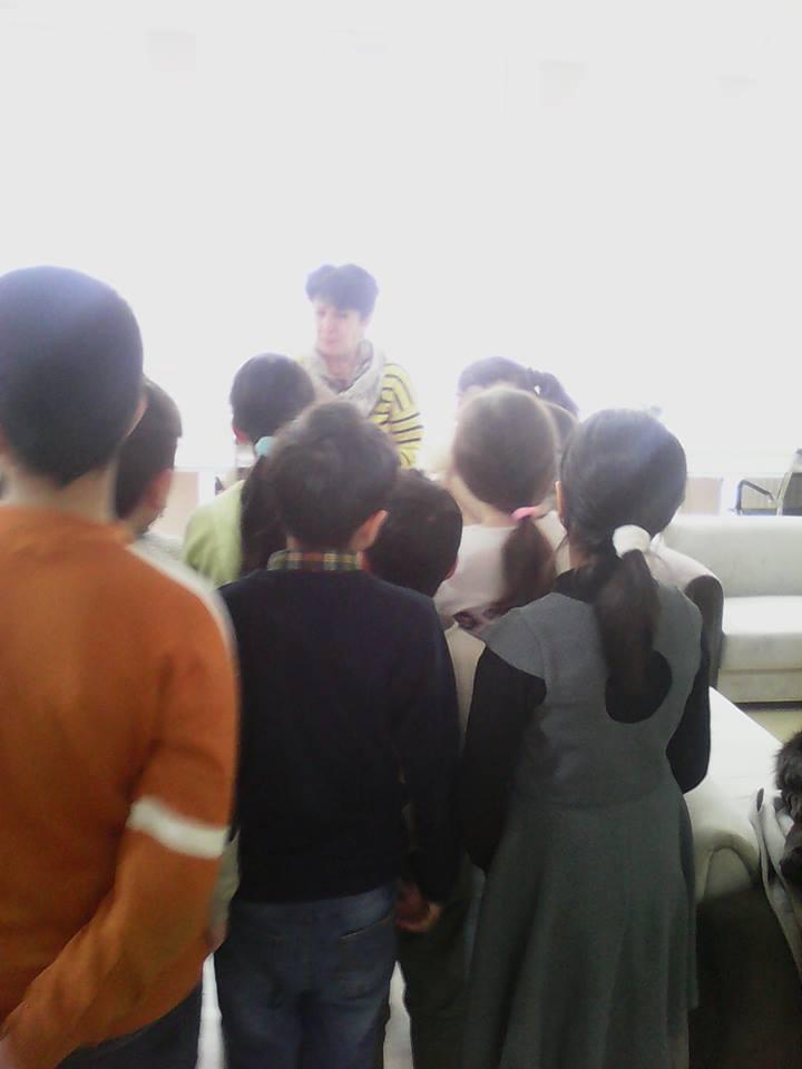 Էլեկտրոնային գրադարան այցելեցին թիվ 7 հիմնական դպրոցի V-րդ (18)