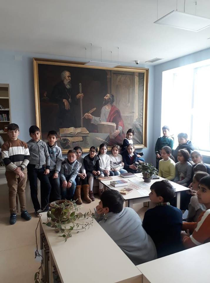 Էլեկտրոնային գրադարան այցելեցին թիվ 7 հիմնական դպրոցի V-րդ (25)