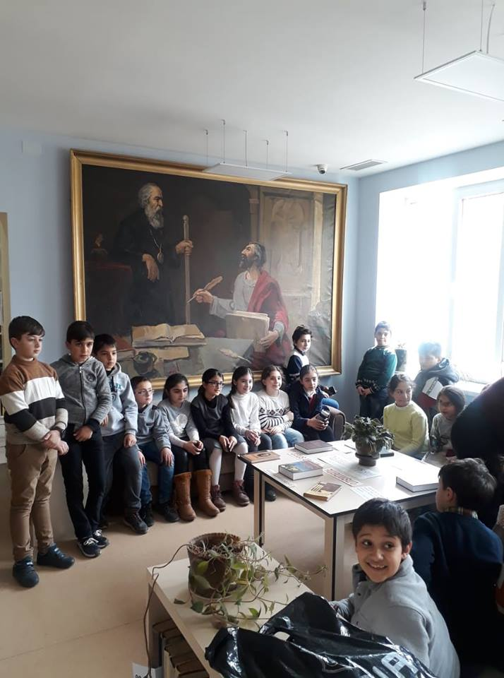 Էլեկտրոնային գրադարան այցելեցին թիվ 7 հիմնական դպրոցի V-րդ (26)