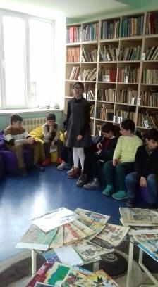 Էլեկտրոնային գրադարան այցելեցին թիվ 7 հիմնական դպրոցի V-րդ (28)