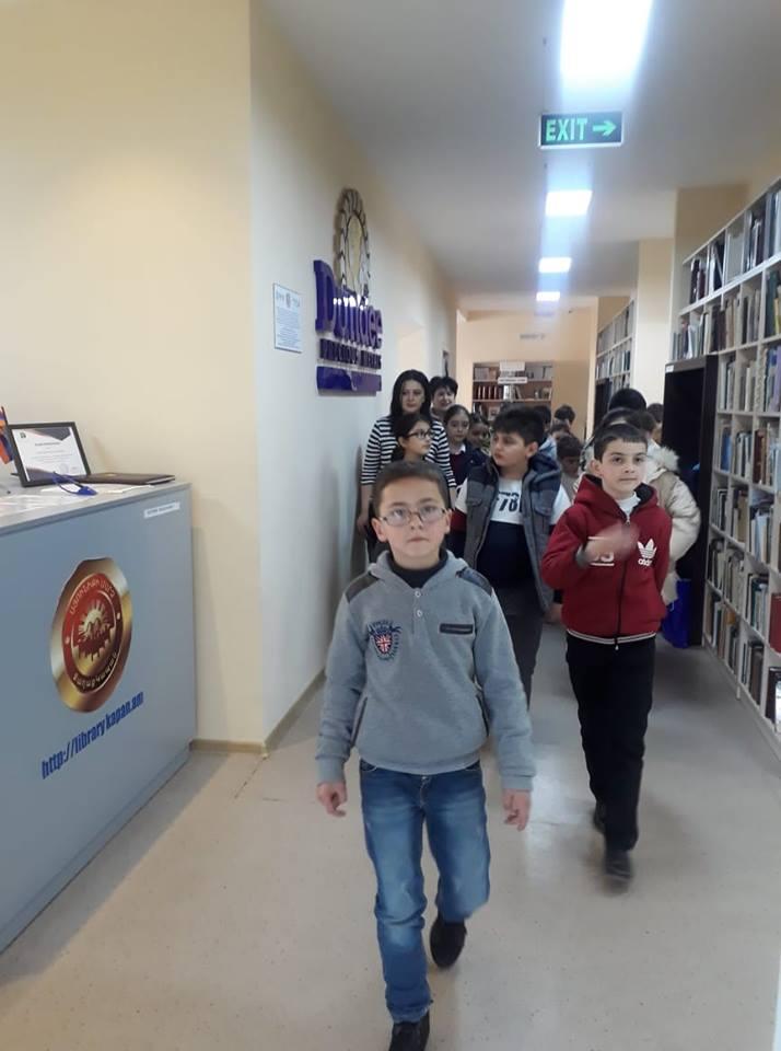 Էլեկտրոնային գրադարան այցելեցին թիվ 7 հիմնական դպրոցի V-րդ (7)