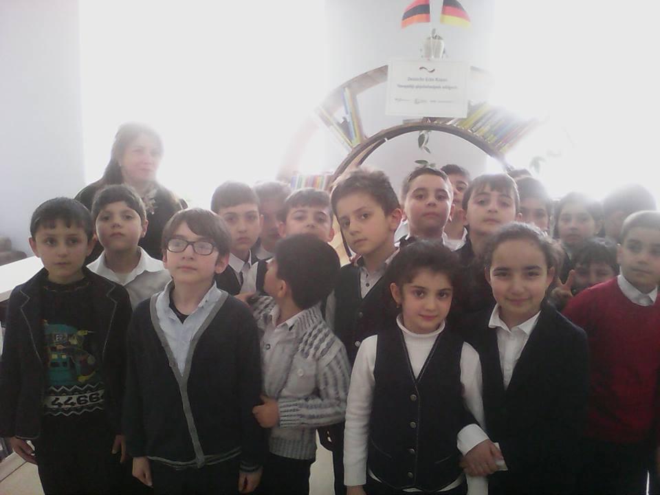 Կապանի թիվ 1 հիմնական դպրոցի III- րդ ,,Ա՛՛ դասարանի աշակերտների այցը (1)