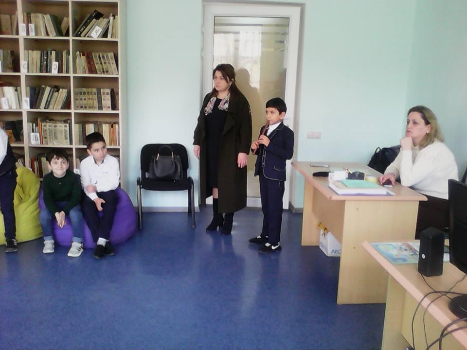 Կապանի թիվ 1 հիմնական դպրոցի III- րդ ,,Ա՛՛ դասարանի աշակերտների այցը (11)