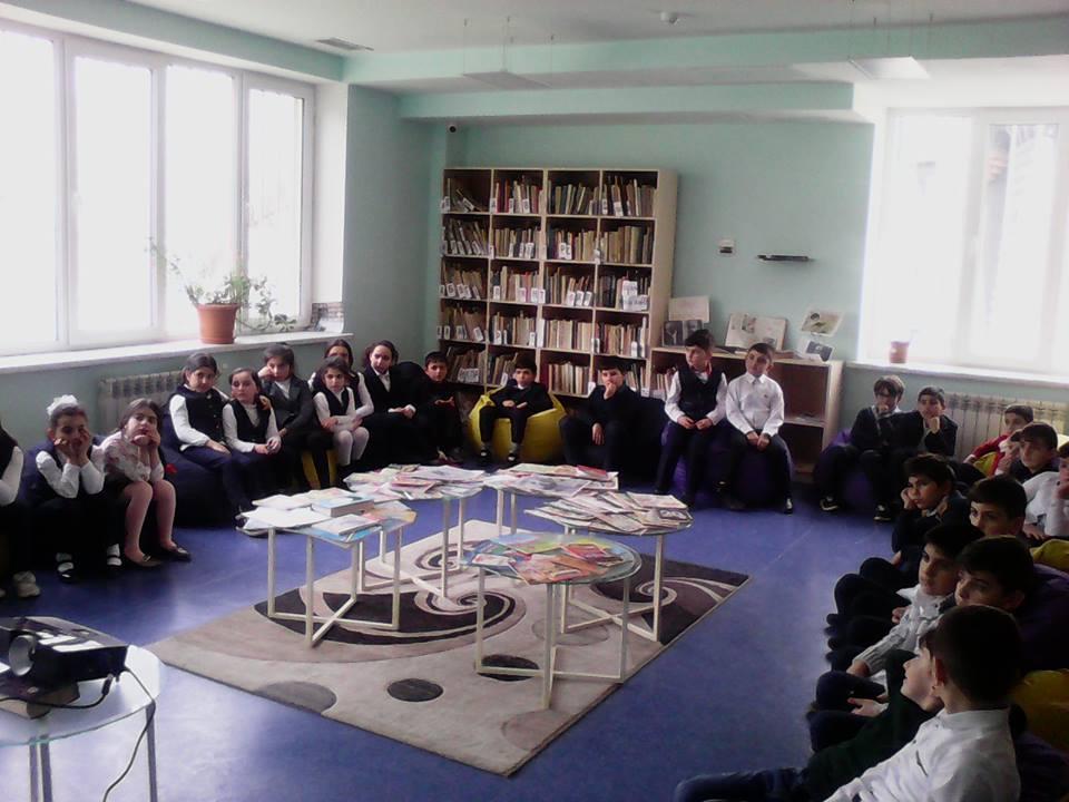 Կապանի թիվ 1 հիմնական դպրոցի III- րդ ,,Ա՛՛ դասարանի աշակերտների այցը (16)