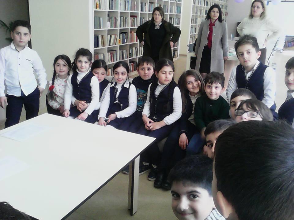 Կապանի թիվ 1 հիմնական դպրոցի III- րդ ,,Ա՛՛ դասարանի աշակերտների այցը (2)