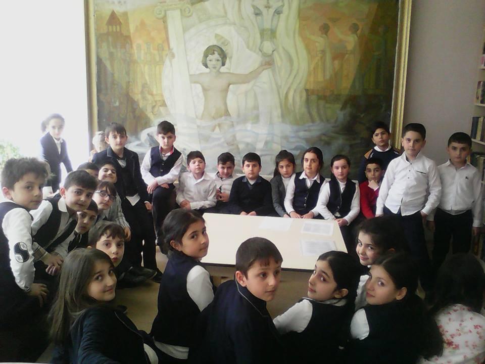 Կապանի թիվ 1 հիմնական դպրոցի III- րդ ,,Ա՛՛ դասարանի աշակերտների այցը (5)